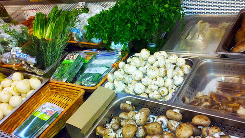 Local veggies at The Greener Grocer