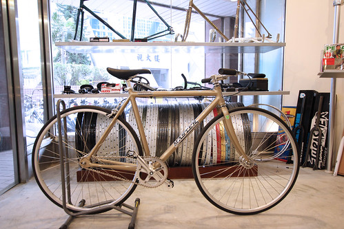 CUSTOM DURCUS ONE MASTER TRACK BIKE (City courier style)