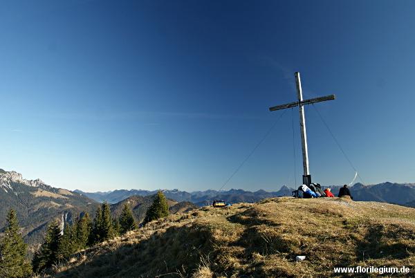 Gipfel des Hirschhörnl