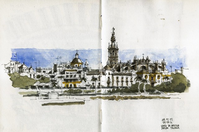 Sevilla, view from Triana