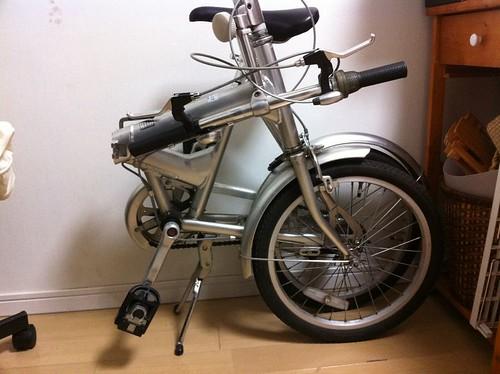 無印良品の折りたたみ自転車