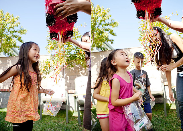 Girls and Pinata
