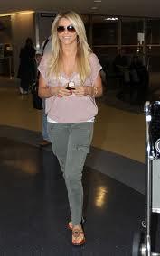 Julianne Hough Cargo Jeans
