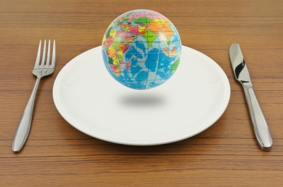 Earth On Plate, Ready For Eat