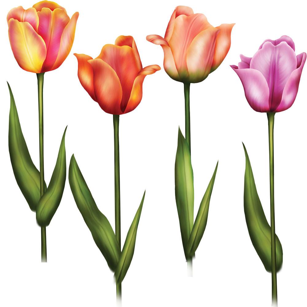 Çiçek temalı dekupaj resimleri