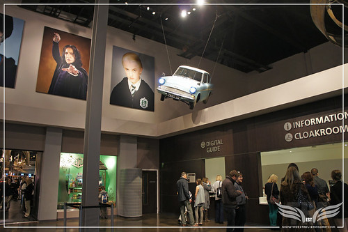 The Establishing Shot: Warner Bros. Studio Tour London – The Making of Harry Potter Lobby &Arthur Weasley's 1963 Ford Anglia 105E Deluxe from Harry Potter and the Chamber of Secrets by Craig Grobler