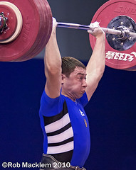 World Weightlifting Championship 2007 77kg category A session