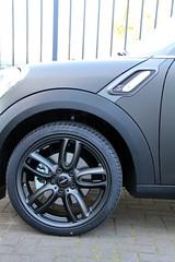 Mini Cooper S carwrap mat zwart