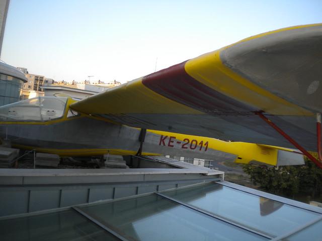 Avión en el MODEM de Debrecen