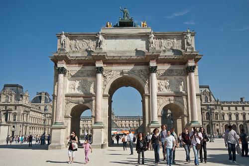 El Arco del Triunfo del Carrusel