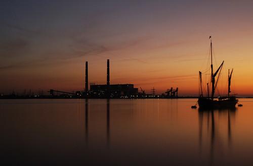 Thames Sunrise.