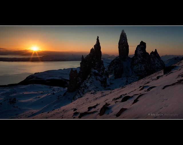 Dawn on the Old Man of Storr