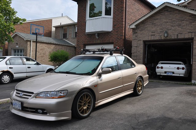 Yakima Roof Rack. EDM Prelude Rear Fogs. JDM Stanley Side Markers *from A  5th Gen Accord* Full LED Interor