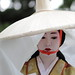 face / geisha / japan / kyoto / costume / hat / make up