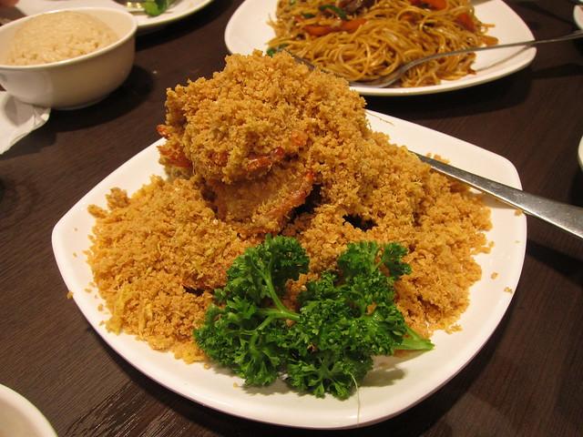 Cereal prawns, Wee Nam Kee