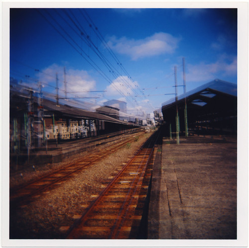 railroad film rain station japan train mediumformat holga doubleexposure toycamera engine jr ishootfilm 日本 nippon locomotive 電車 japon trainyard kyushu 120n 駅 九州 jrf holga120n freightyard 福岡県 japanrailways 鹿児島本線 scannedoriginal ホルガ 二重露出 holga120nmediumformatfixedfocuscamera 北九州市 kitakyūshū fukuokaprefecture 門司区 ホルガ120n 門司駅 mojiku kagoshimamainline mojistation japan92011 japanrailwaysfreight 二重暴露