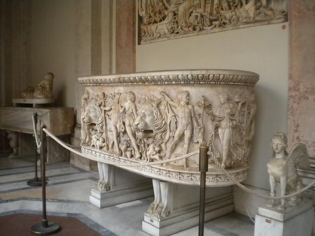 Obra en los Museos Vaticanos