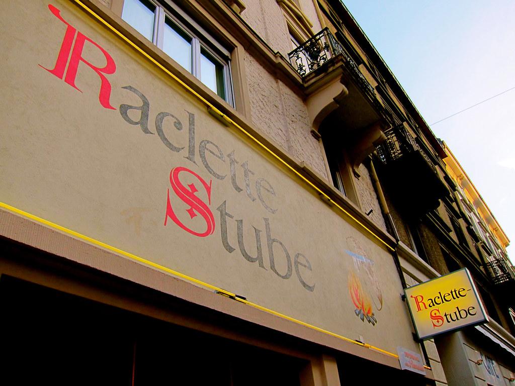 Raclette Stube in Zurich