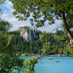 Bled Castle is the oldest castle in Slovenia