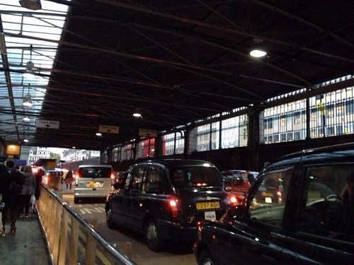 パディントン駅のタクシー乗り場
