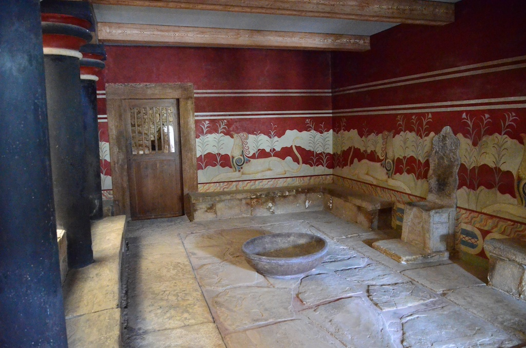 Throan Room, Knossos Palace
