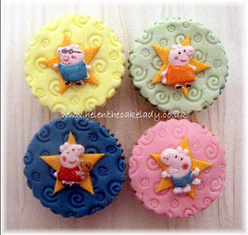 Peppa pig Birthday Cupcake