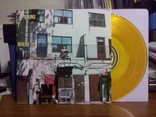 "Young Governor - Where It's Quiet 10"" - Clear Orange Vinyl"