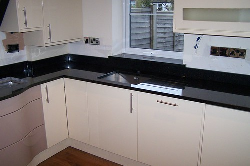 Black Galaxy Kitchen Worktops Spm Granite