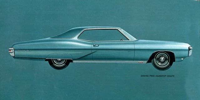 1968 Pontiac Grand Prix Hardtop Coupe - a photo on Flickriver