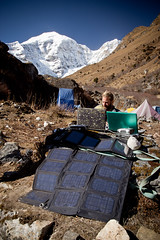 Solar Charging in the Field