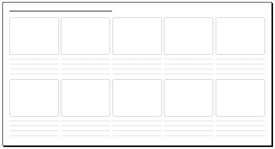 Ten Frame Template http://www.flickr.com/photos/kristofcreative/6347060335/