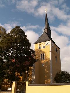 Das Schlüsselloch der Kirche in Sachsen will sich verstecken 294