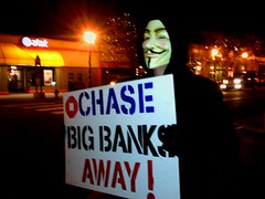 CHASE Big Banks Away by nosajmunson