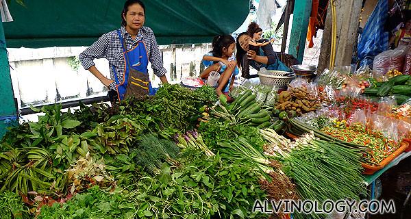 More Isan veggies