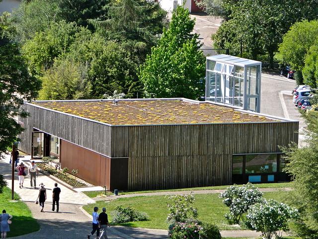 Pavillon d 39 accueil du jardin botanique du montet ce for Boutique du jardin botanique