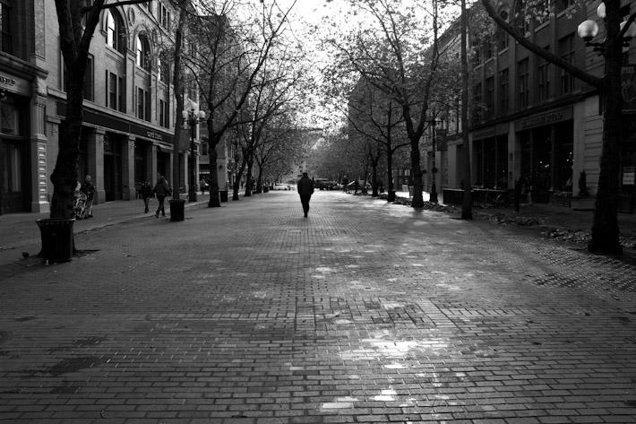 Pioneer Square.
