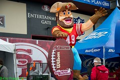 USA: CA, San Francisco 49ers
