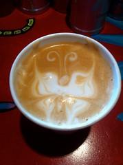Butterfly in my coffee