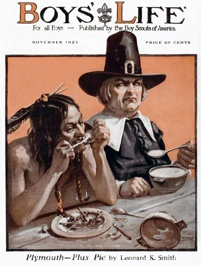 1927 - Happy Thanksgiving - Boy's Life