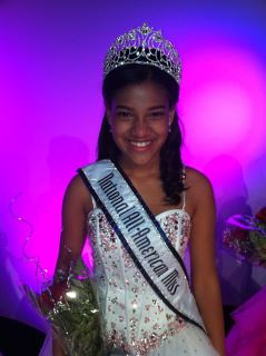 National All-American Pre-Teen Shareen Pimentel of New Jersey