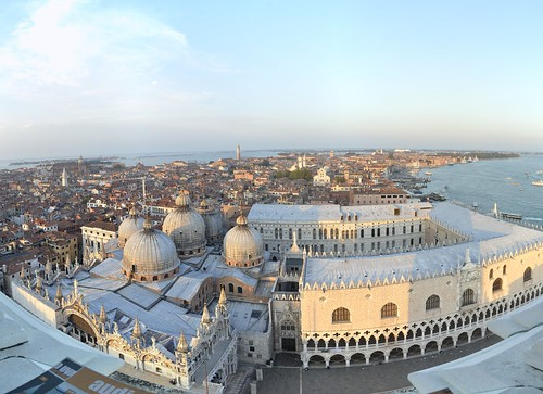 View from St Mark Belltower Stitch III, Venice, Italy