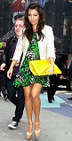 Kourtney Kardashian Neon Handbag Celebrity Style Fashion