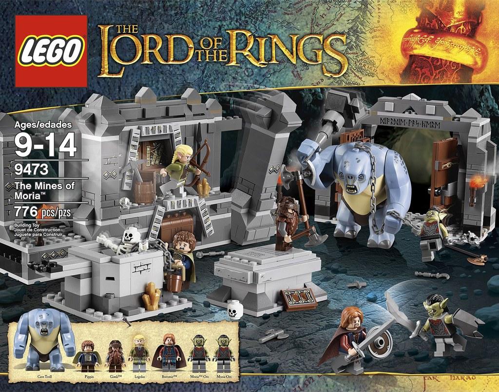 [Lego] Le Seigneur Des Anneaux revit avec le géant danois ! 6877664246_99317b4725_b