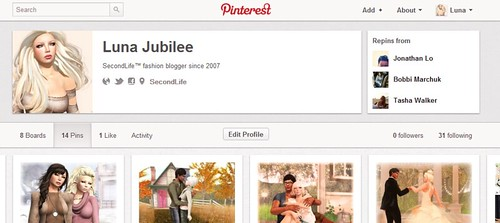 Pinterest - Add Me