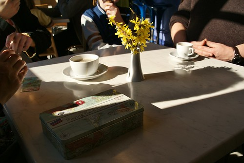 cards and coffee