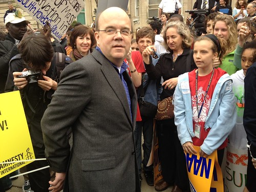 <B>Rep Jim McGovern Protests Massive Abuses By Sudan