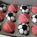 soccer cricket balls