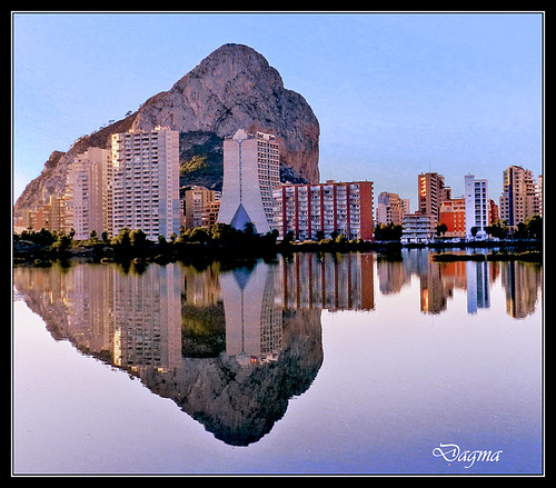 Reflections.. Caipe..Spain