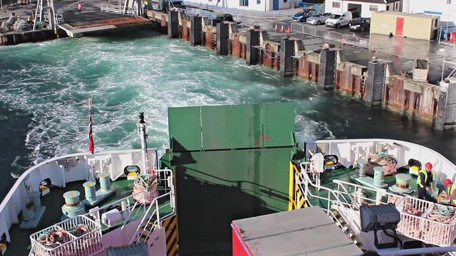 Leaving Port Askaig, Islay on the Ferry