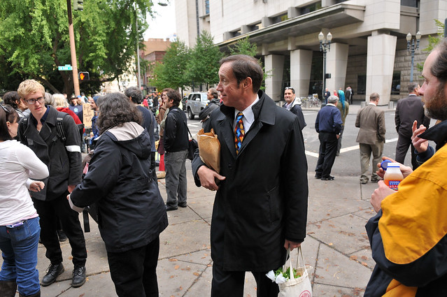 Occupy Portland on SW Main Street-4-3